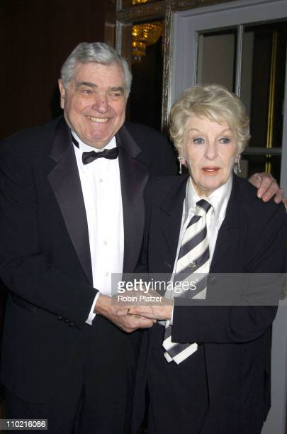 Victor Gotbaum and Elaine Stritch during The 30th Anniversary of The New Yorker For New York Awards Benefitting Citzens For NYC at The Waldorf...