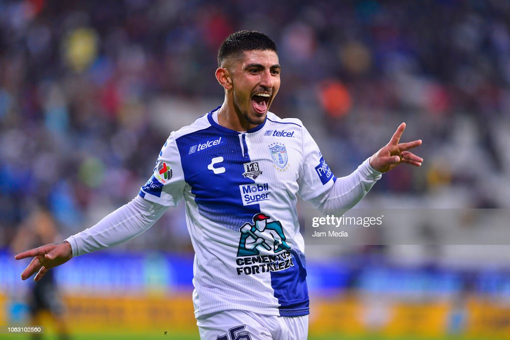Pachuca v Necaxa - Torneo Apertura 2018 Liga MX : News Photo