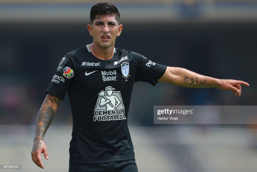 Pumas UNAM v Pachuca - Torneo Apertura 2017 Liga MX