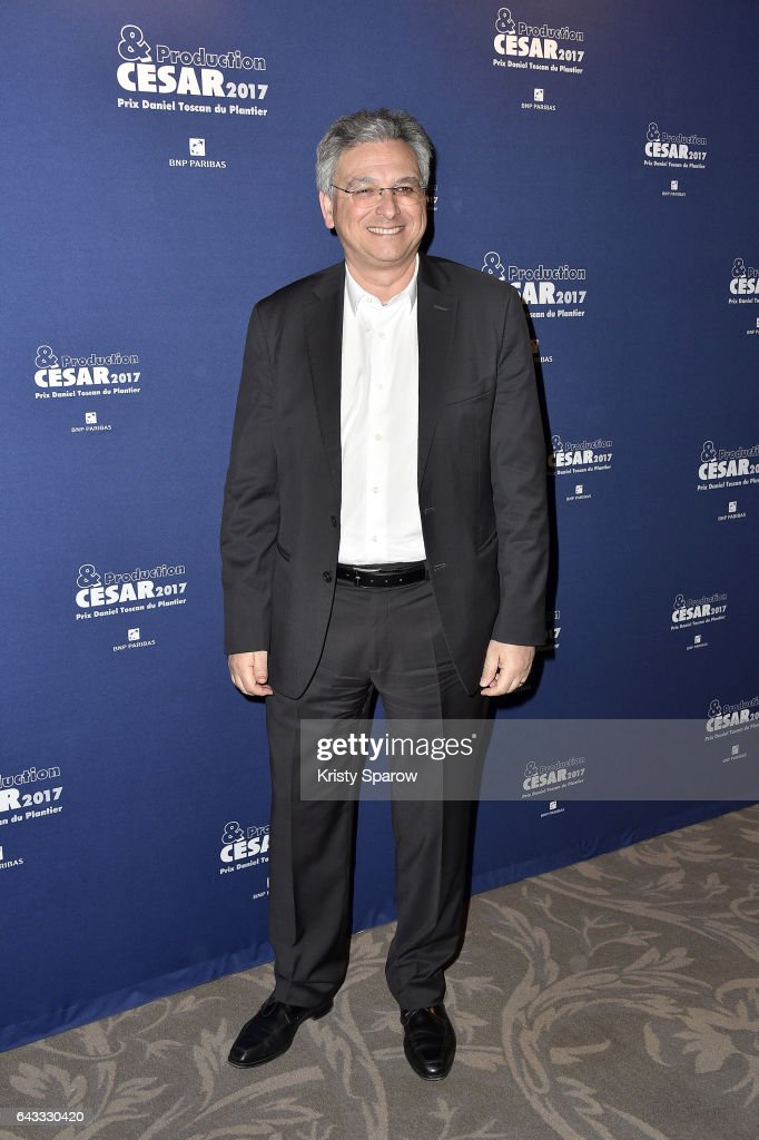 Victor Hadida attends the 'Cesar 2017 Diner Des Producteurs' at the Four Seasons Hotel George V on February 20, 2017 in Paris, France.