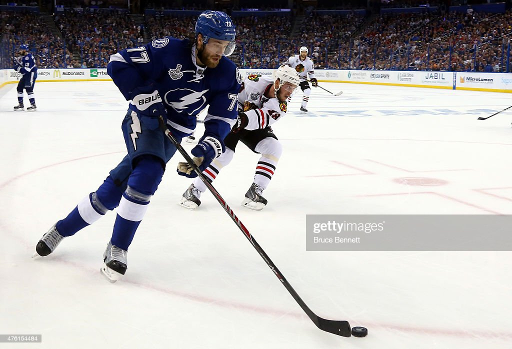 2015 NHL Stanley Cup Final - Game Two : News Photo