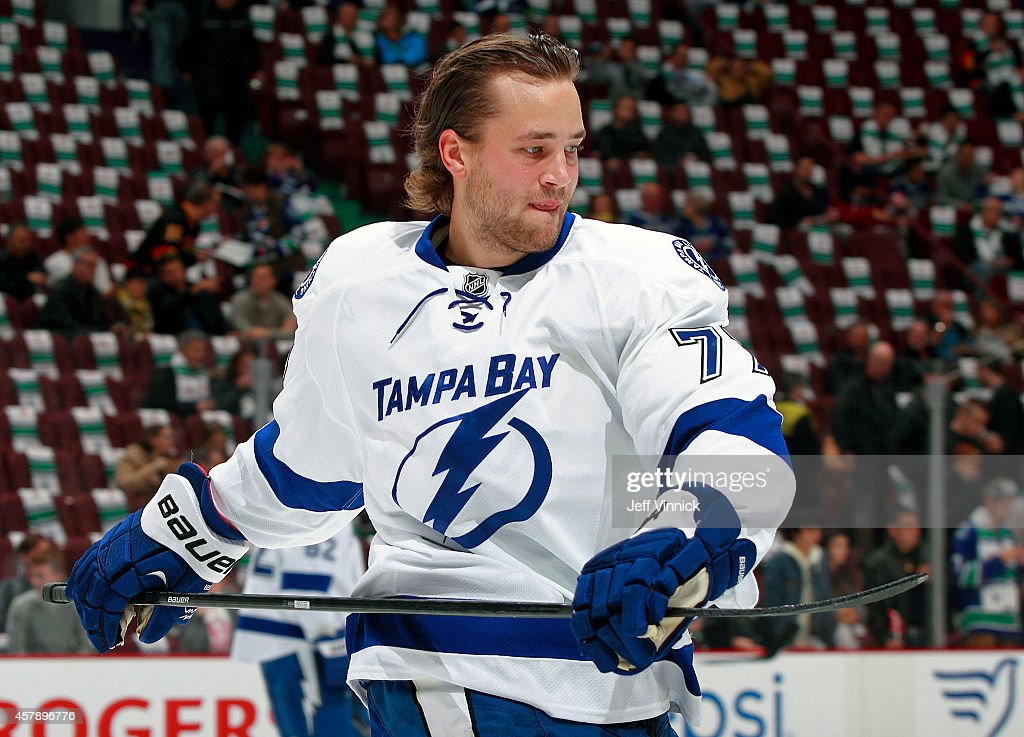 Tampa Bay Lightning v Vancouver Canucks