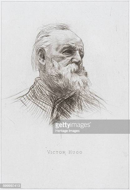 Victor Hugo 1884 Private Collection Artist Rodin Auguste