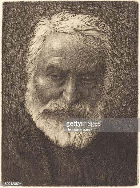 Victor Hugo, 2nd plate. Artist Alphonse Legros.