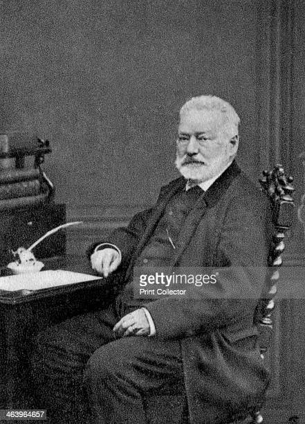 Victor Hugo French author 1872 Born in Besancon Victor Hugo was a central figure in the French Romantic movement In 1848 the year of revolutions in...