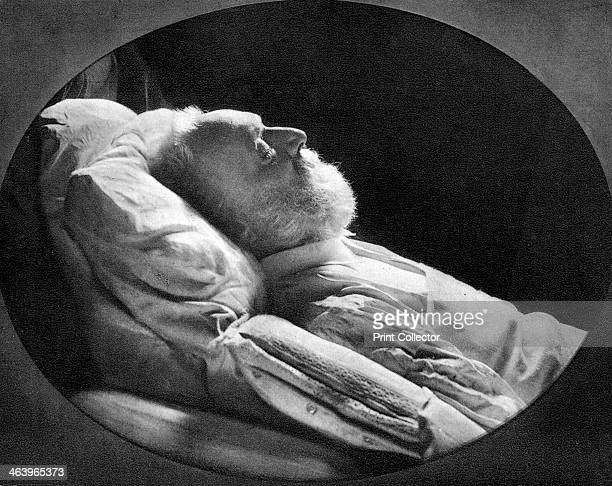 Victor Hugo French author on his deathbed 22nd May 1885 Victor Hugo was a central figure in the French Romantic movement In 1848 the year of...