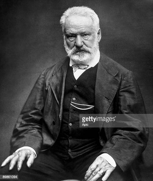Victor Hugo french poet and novelist here in 1876 photo by Etienne Carjat