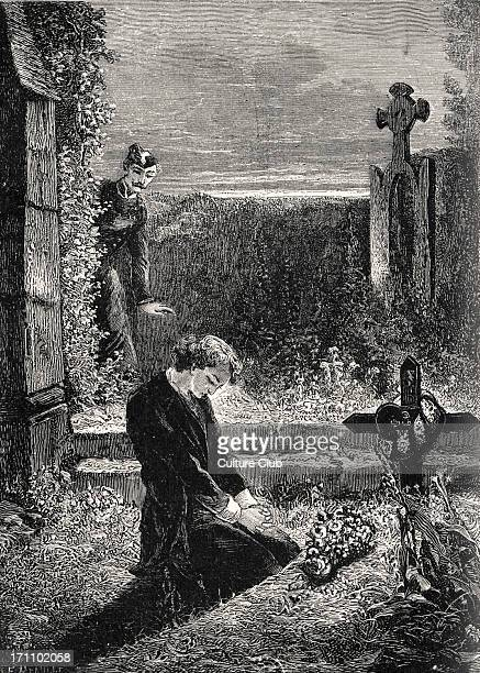 Victor Hugo the French poet and novelist's novel 'Les Misérables' Illustration by Fortune Meaulle 'Marius' 26 February 1802 22 May 1885