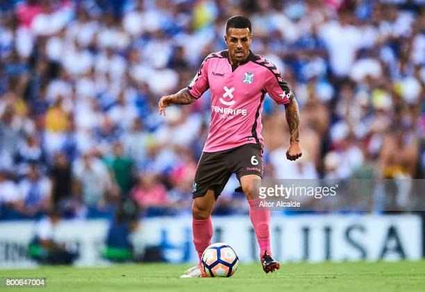 Victor Jode Anino 'Vitolo' of CD Tenerife in action during La Liga 2 play off round between Getafe and CD Tenerife at Coliseum Alfonso Perez Stadium...
