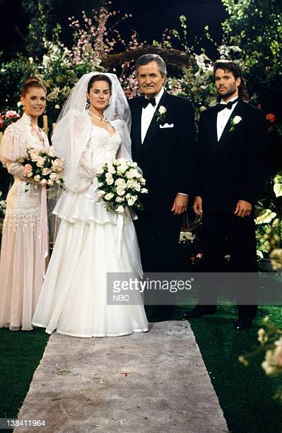 LIVES Victor Kiriakis Carly Manning Wedding Pictured Melissa Reeves as Jennifer Deveraux Crystal Chappell as Carly Manning John Aniston as Victor...