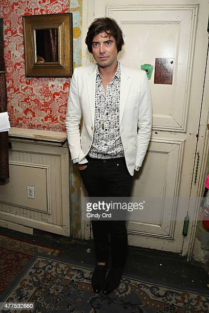Victor Kubicek attends the Casa Reale Fine Jewelry Launch at The Box on June 17 2015 in New York City