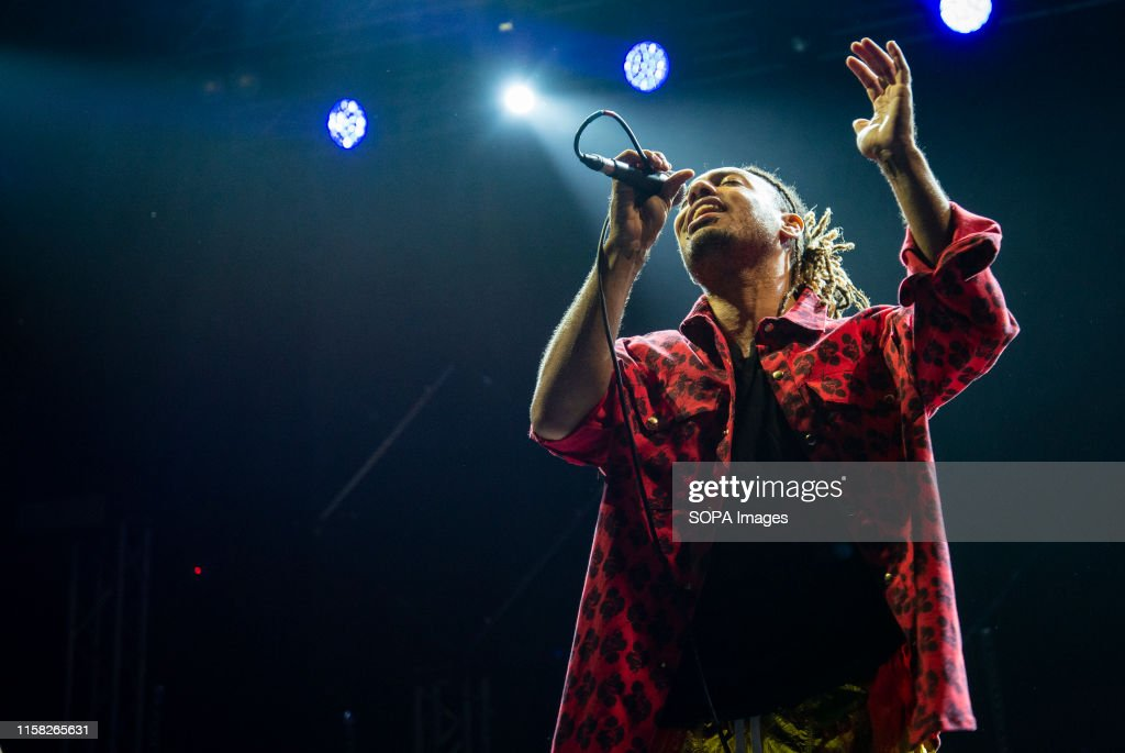 Victor Kwality performs live on stage during the Gru Village... : News Photo