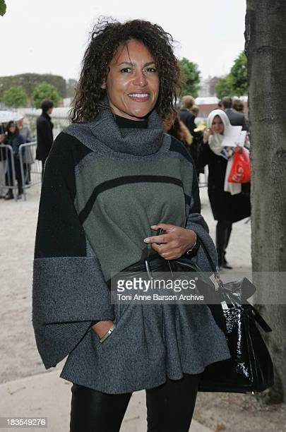 Victor Lazlo attends the Christian Lacroix fashion show during Paris Fashion Week at Espace Ephemere Tuileries on October 1 2008 in Paris France