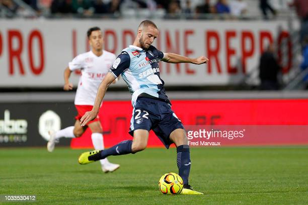 Victor Lekhal of Le Havre during the French Ligue 2 match between Nancy and Le Havre on September 14 2018 in Nancy France