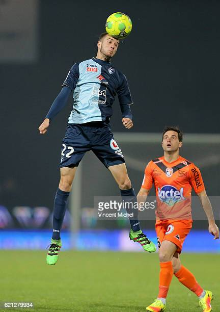 Victor Lekhal of Le Havre during the Ligue 2 match between Stade Lavallois and Le Havre AC on November 4 2016 in Laval France