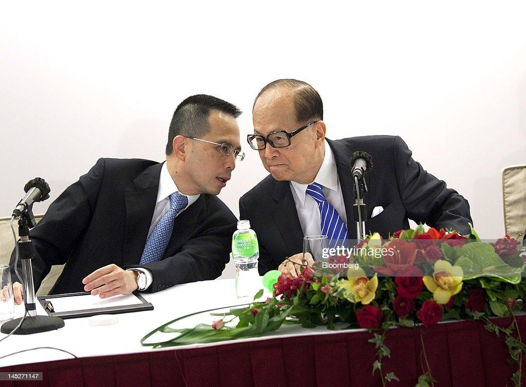Li Ka-shing Says He Will Back Son Richard's Acquisition Plans