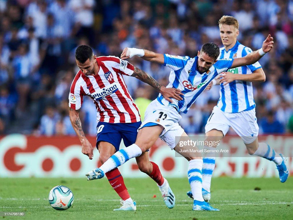 Real Sociedad v Club Atletico de Madrid  - La Liga : News Photo