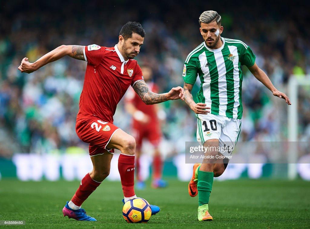 Real Betis Balompie v Sevilla FC - La Liga : ニュース写真