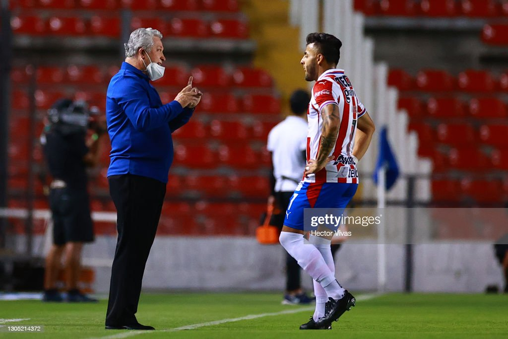 Queretaro v Chivas - Torneo Guard1anes 2021 Liga MX : News Photo