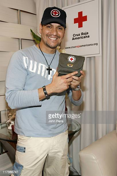 Victor Manuelle during Billboard Latin Music Conference and Awards 2007 Backstage Creations Gift Suite Day 1 at Bank United Center in Coral Gables...