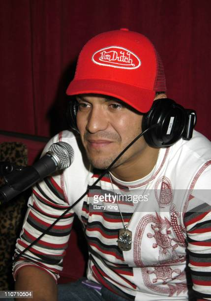 Victor Manuelle during The 5th Annual Latin Grammy Awards Radio Room Day Two at Shrine Auditorium in Los Angeles California United States
