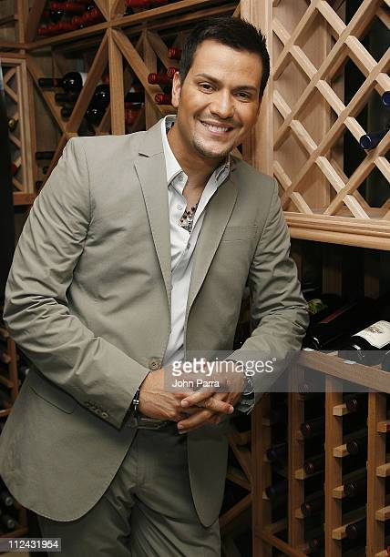 Victor Manuelle during Victor Manuelle Hosts 'A Night Under The Stars' Concert Inside at Cielo in Coconut Grove Florida United States