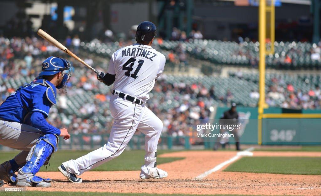 Kansas City Royals v Detroit Tigers : Nyhetsfoto