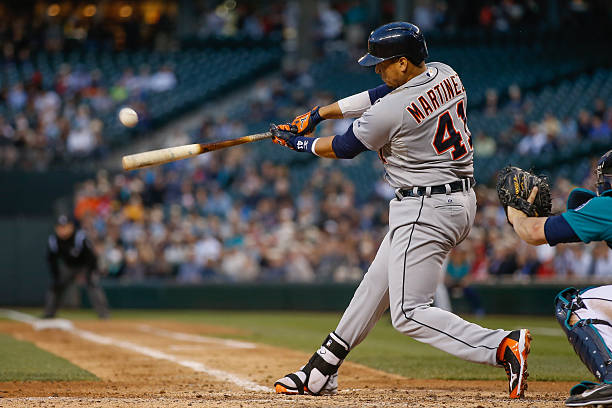 Victor Martinez of the Detroit Tigers