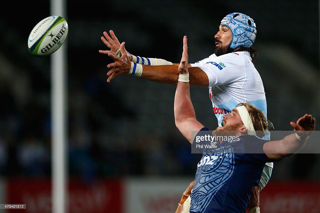 Super Rugby Rd 14 - Blues v Bulls