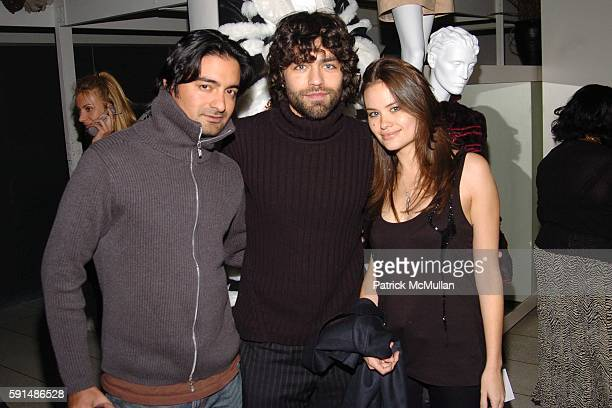Victor Medina Adrian Grenier and Kristina Ratliff attend COOL vs CRUEL Fashion Design Contest Awards presented by The Humane Society of the United...