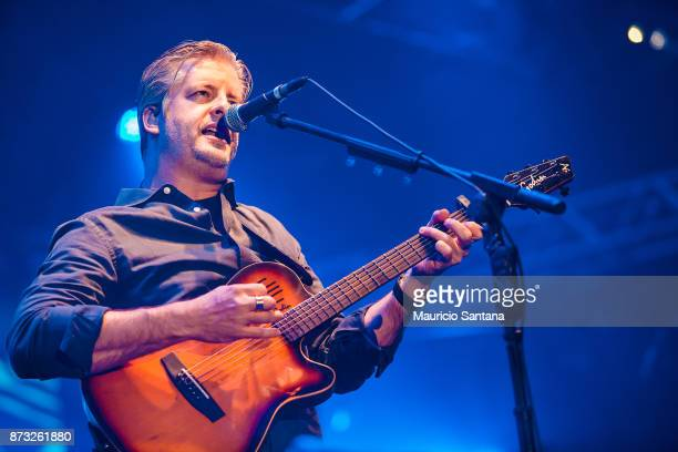 Victor member of the band Victor and Leo performs live on stage at Atibaia Amuse Hall on November 11 2017 in Atibaia Brazil