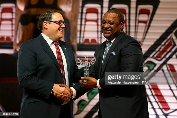 Victor Montagliani Chairman of the National Organising Committee for the FIFA Woman`s World Cup 2015 and Canadian Soccer Association President...