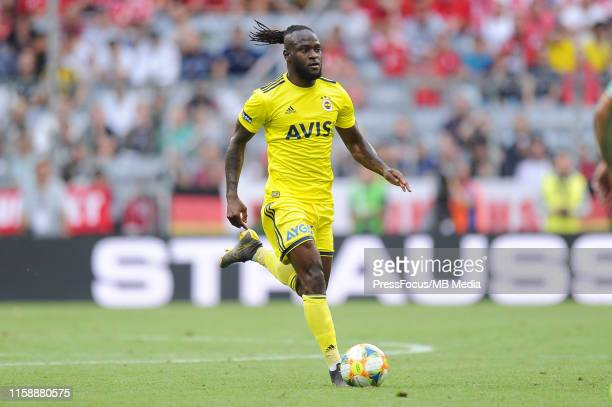 Victor Moses of Fenerbahce SK in action during the Audi cup 2019 3rd place match between Real Madrid and Fenerbahce at Allianz Arena on July 31 2019...
