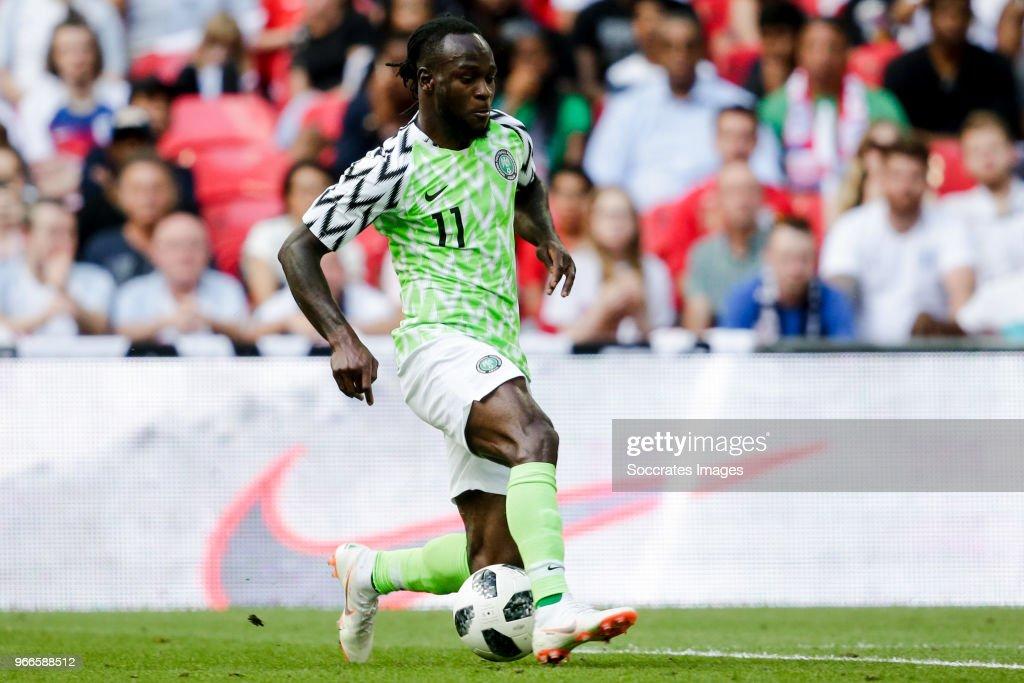 England  v Nigeria  -International Friendly : News Photo