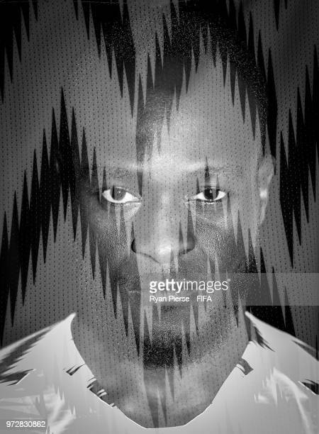 Victor Moses of Nigeria poses during the official FIFA World Cup 2018 portrait session at on June 12 2018 in Yessentuki Russia