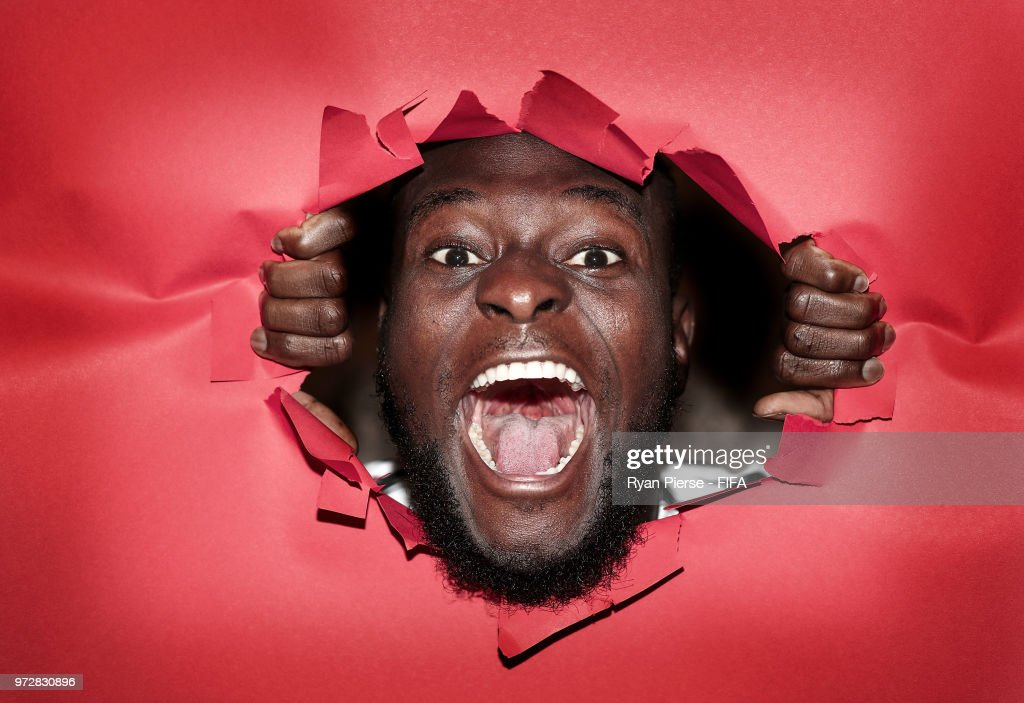 Victor Moses of Nigeria poses during the official FIFA World Cup 2018 portrait session at on June 12, 2018 in Yessentuki, Russia.