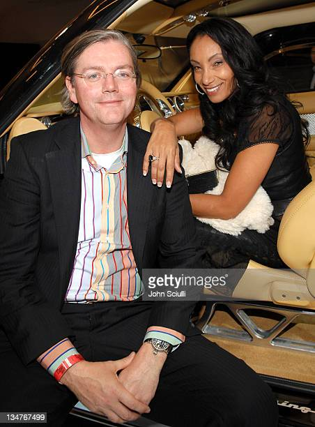Victor Muller, CEo of Spiker and Downtown Julie Brown