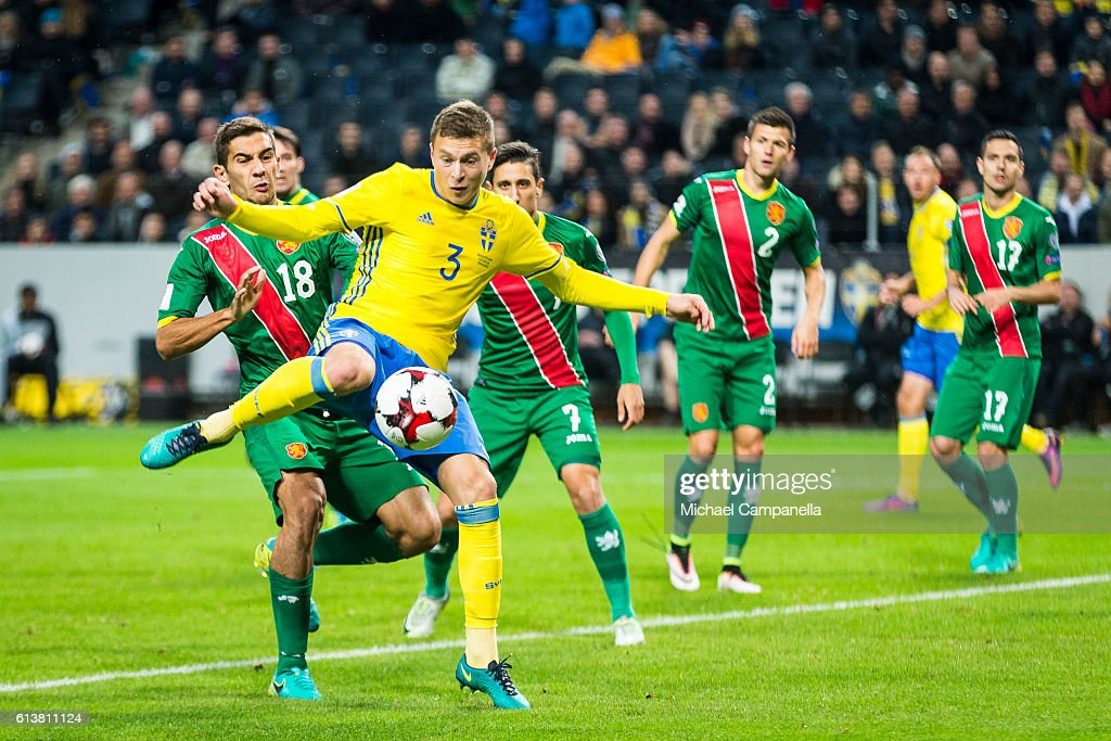 Sweden v Bulgaria - FIFA 2018 World Cup Qualifier