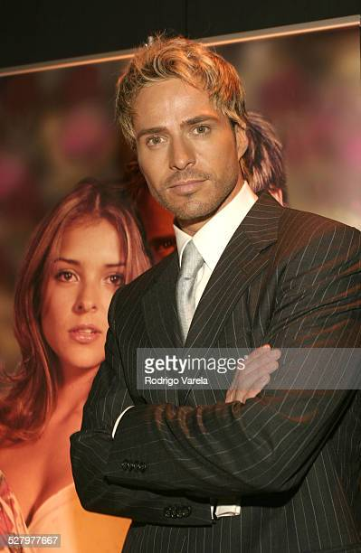 Victor Noriega during Angel Rebelde Telenovela/Soap Opera Photocall at Fono Video Studios in Miami Florida United States