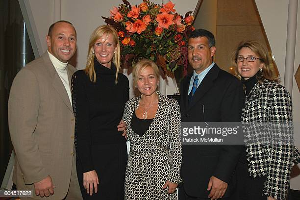 Victor Novogrozzky Sandra Lee Dianne Novogrozzky Stephen Amplo and Lilian Amplo attend SANDRA LEE SemiHomemade Cookbook Series Launch Party hosted by...