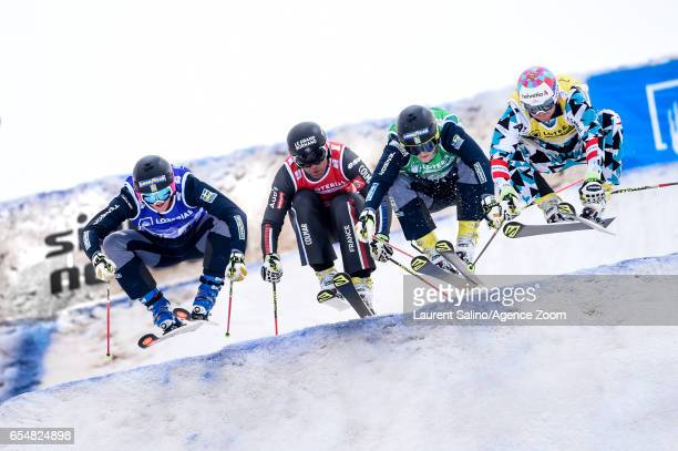 Victor Oehling Norberg of Sweden wins the gold medal Bastien Midol of France competes Viktor Andersson of Sweden competes Christoph Wahrstoetter of...
