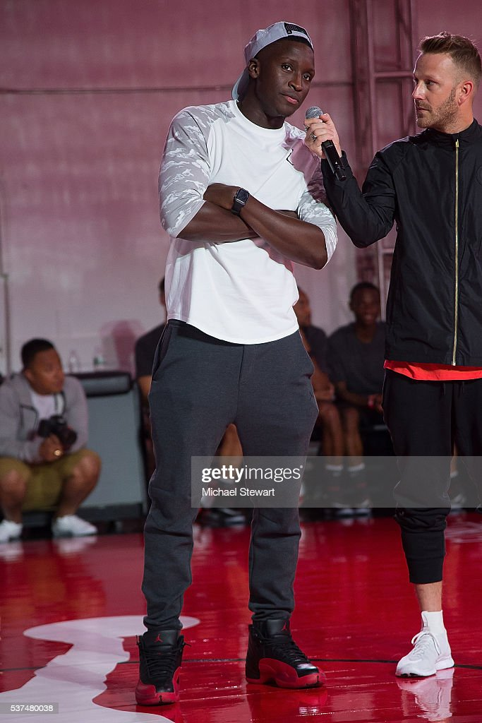 Victor Oladipo attends the Neymar Jr. + Michael Jordan Collection Celebration at Terminal 23 on June 1, 2016 in New York City.