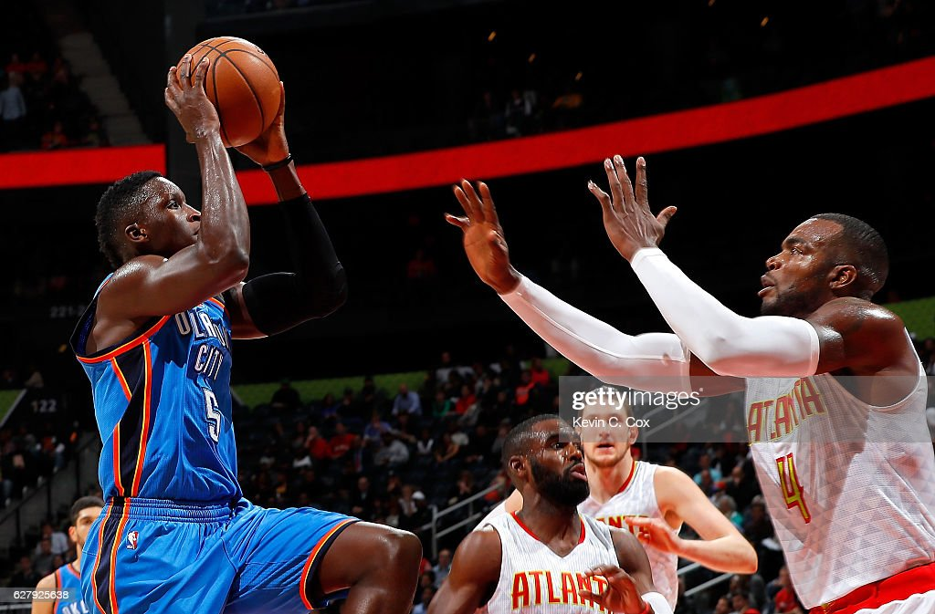 Fotos e imágenes de Oklahoma City Hawks Thunder v Atlanta Hawks City   Getty Images b2d9c3