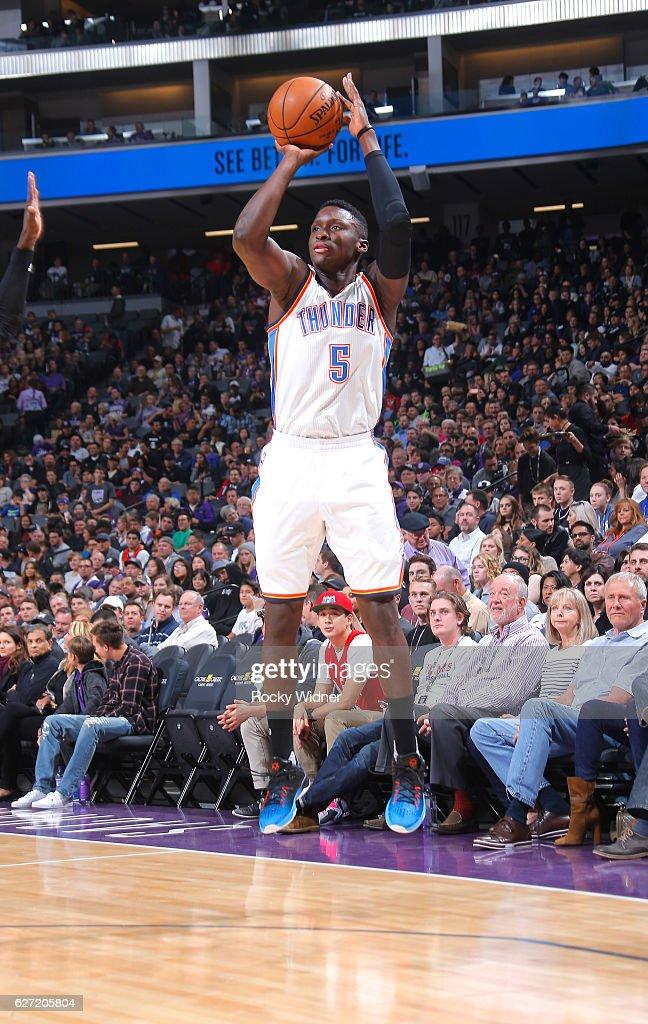 Oklahoma City Thunder v Sacramento Kings