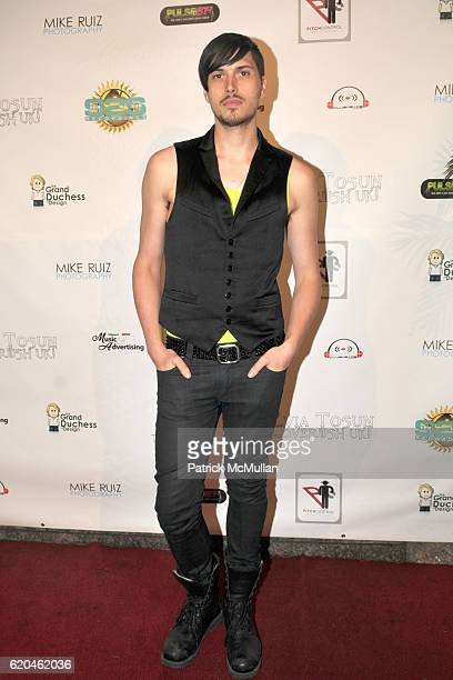 Victor Osborne attends Official Video Release Party for 5 REASONS by SYLVIA TOSUN and LOVERUSH UK at Nikki Midtown on June 4 2008 in New York City