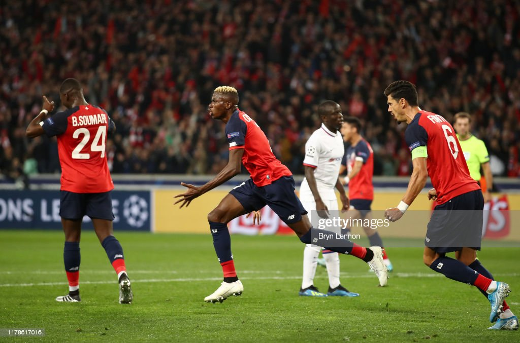 Lille OSC v Chelsea FC: Group H - UEFA Champions League : ニュース写真