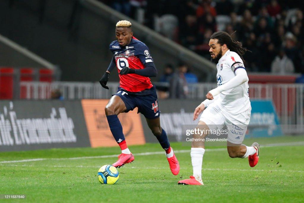 Lille OSC v Olympique Lyonnais - Ligue 1 : News Photo