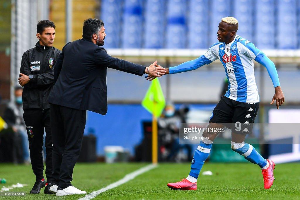 UC Sampdoria vs SSC Napoli - Serie A : News Photo