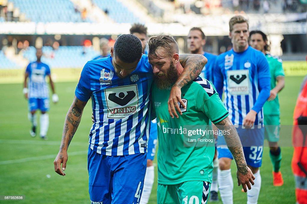 Esbjerg fB vs AGF Aarhus - Danish Alka Superliga : News Photo