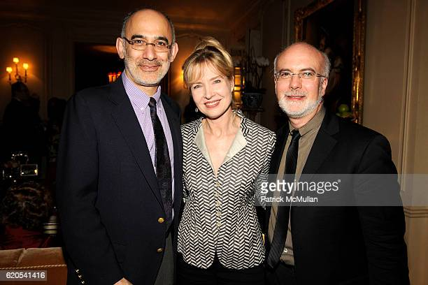 Victor Pappas Janet Zarish and Larry Yurman attend MICHELE and LAWRENCE HERBERT Kickoff Party For The NYU Tisch School of The Arts Fall Gala honoring...